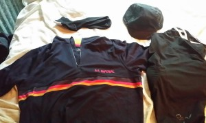 New Rapha Imperial Works Kit to commemorate the first day of the Rapha Rising Challenge